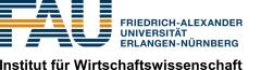 Institut für Wirtschaftswissenschaft